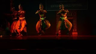 Sridevi Nrithyalaya - Gambeera Nattai Pushpanjali Group - Full video