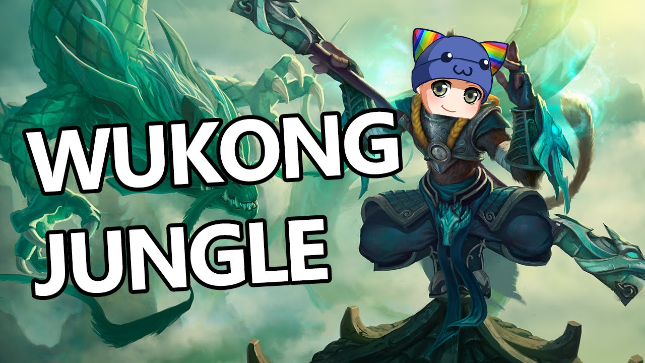 League of Legends - Wukong Jungle - Full Gameplay Commentary