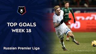 Top Goals RPL Week 18