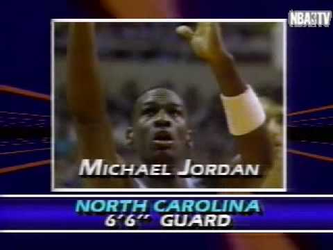The Chicago Bulls pick MICHAEL JORDAN! Draft Video