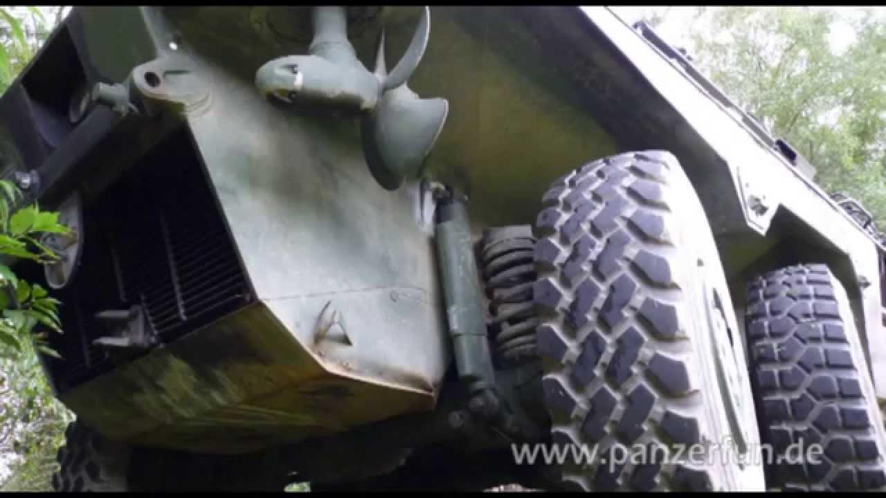 Spähpanzer sppz luchs selber fahren erste testfahrt