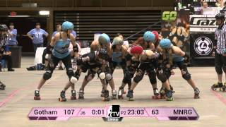 Minnesota RollerGirls v Gotham Girls Roller Derby: 2013 WFTDA D1 Playoffs Asheville