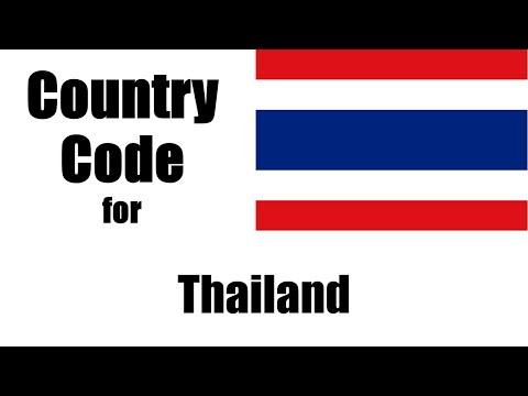 Thailand Dialing Code - Thai Country Code - Telephone Area Codes In Thailand