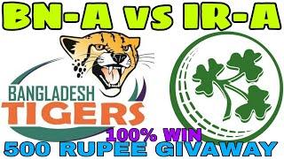 BN-A vs IR-A 3rd T20 MATCH DREAM11 TEAM PLAYING11, BANGLADESH A VS IRELAND A
