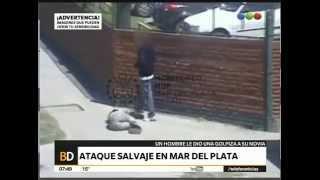 Brutal golpiza a su novia – Telefe Noticias