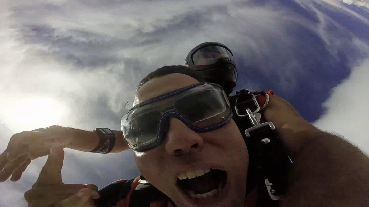 Salto de Paraquedas do Marcelo P na Queda Livre Paraquedismo 28 01 2017