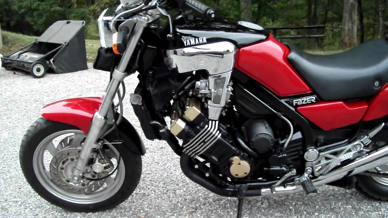 Yamaha fazer 1986 - photo and video reviews | All-Moto.net