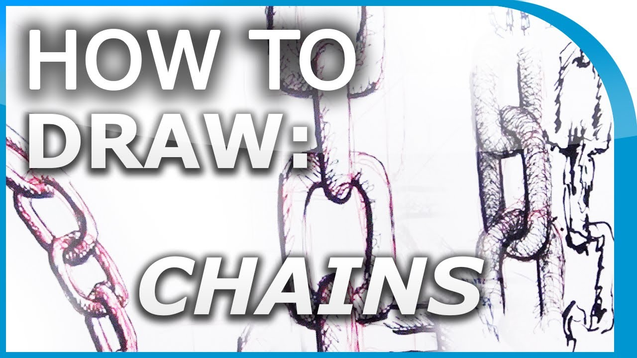 How To Draw Chains Chain Links