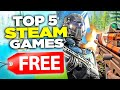 TOP 5 FREE Steam Games 2019 - 2020