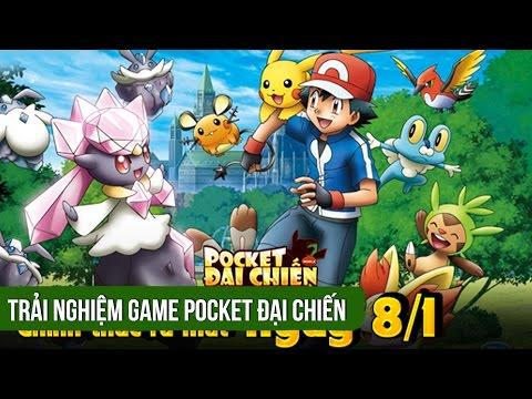 Trải nghiệm game Pocket Đại Chiến ra mắt 8/1/2016 -Funtap