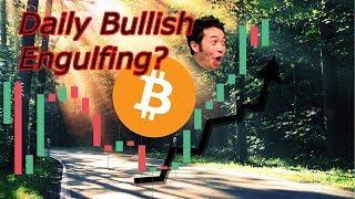 Bitcoin Live : Daily Bullish Engulfing For BTC?!?  Crypto Technical Analysis