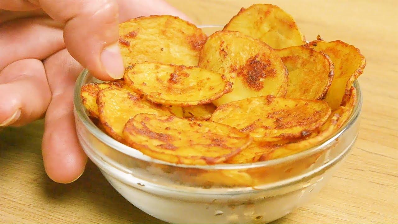 Chips ohne Öl Rezept | GuteKueche.at