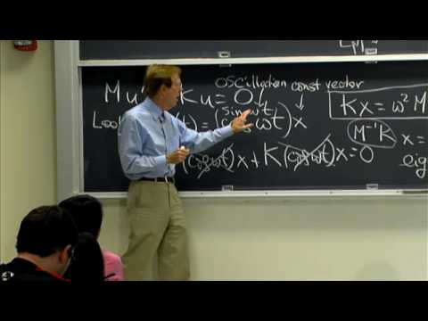 Lec 9 | MIT 18.085 Computational Science and Engineering I, Fall 2008