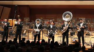 海上自衛隊東京音楽隊 第57回定例演奏会コンサート前の演奏.