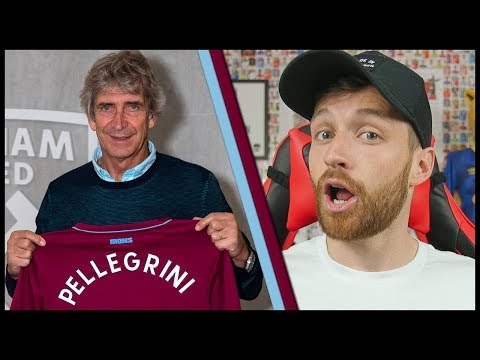 PELLEGRINI IS NEW WEST HAM MANAGER! - MY REACTION