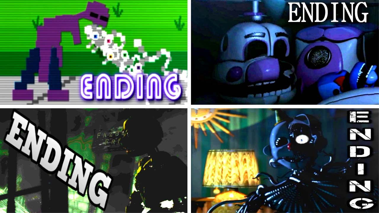 Download Five Nights at Freddy's: Sister Location ALL ENDINGS | FNAF Sister Location