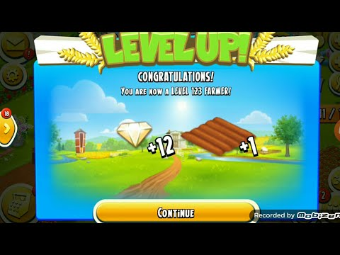 Level Up 123 | Hay Day Game play