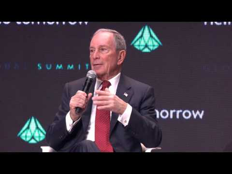 When Innovation Fuels the Economy with Michael Bloomberg and Emmanuel Macron