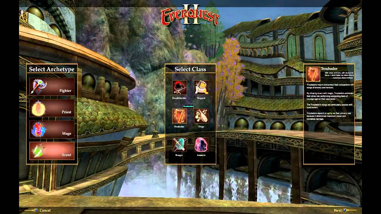 Let's Play Everquest 2 - P1 - Character Creation