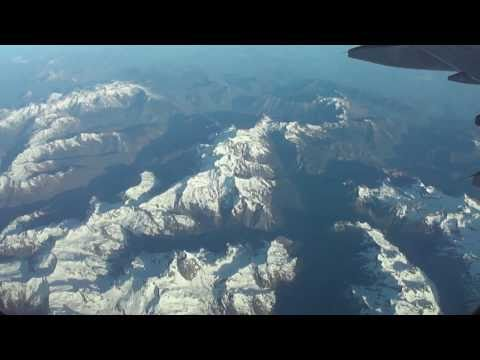 Madrid-to-Munich LH flight: Pyrenees, Alps, Lake of Constanc