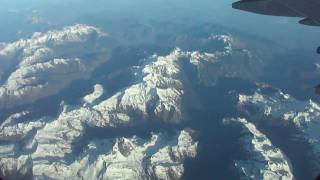 Madrid-to-Munich LH flight: Pyrenees, Swiss Alps, Lake of Constance / Bodensee 2011-04-05