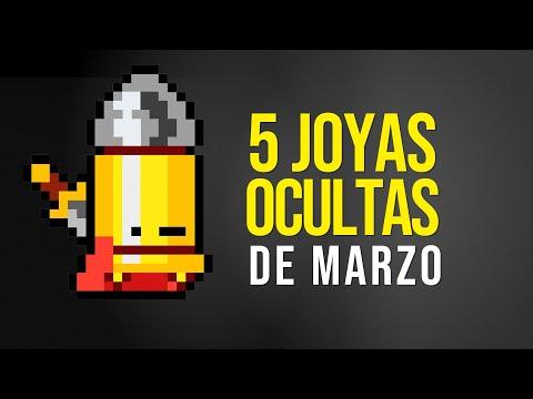5 JOYAS OCULTAS De MARZO