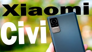 Xiaomi Civi - первый 💥обзор💥самый красивый смартфон 2021 года 👏