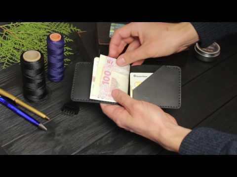 Зажим для купюр ручной работы VOILE Vl-mc6-blk. Купить недорого - видео обзор