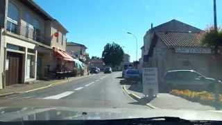 Arrivée au camping les peupliers en Gironde en provenance de Lesparre Médoc ou le verdon sur Mer