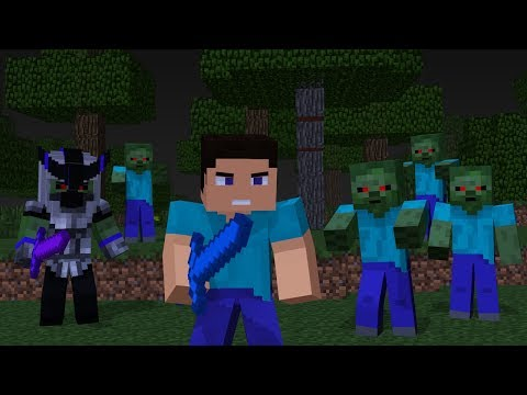 Steve Life 1-5: Full Movie - Minecraft Animation - Популярные