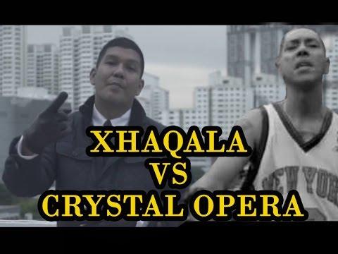 XAQHALA VS CRYSTAL OPERA  MANGGUNG LIVE,,SIAPA PALING KEREN