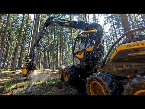 Forstschlepper: Was leistet der Forsttraktor Pm Trac III im