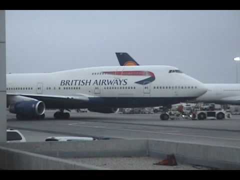 Boeing 747 British Airways at LAX Airport 2 - 050909 - Aviation