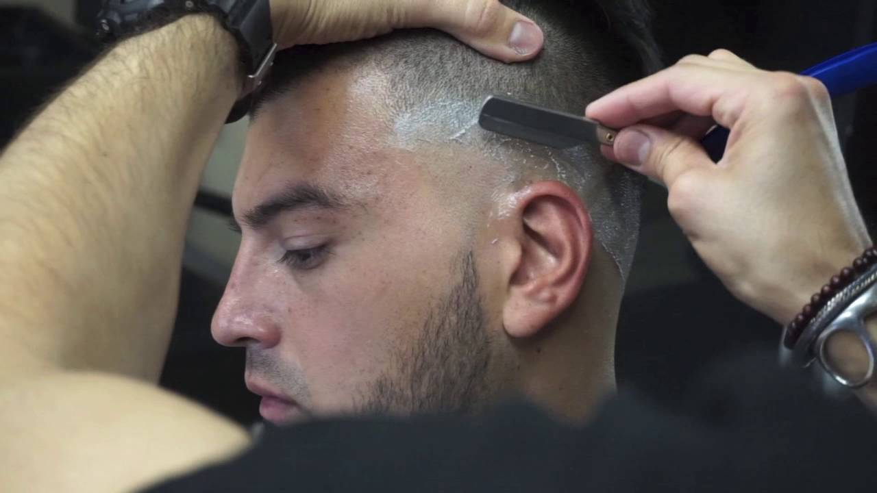 How to cut style a razor fade step by step tutorial youtube urmus Gallery