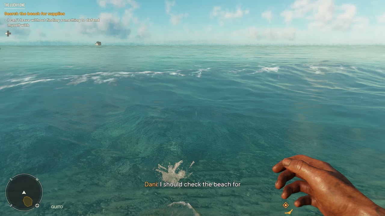 Far Cry 6 - SWIMMING with RTX ON looks fantastic