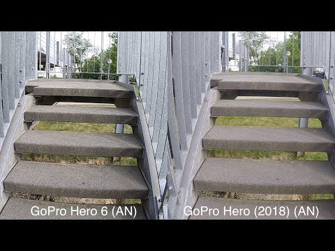 GoPro Hero 6 vs. Hero (2018) // Image Stabilization Test Footage // DEUTSCH