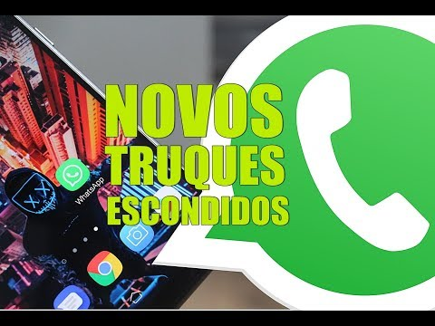 NOVOS TRUQUES Escondidos No WHATSAPP