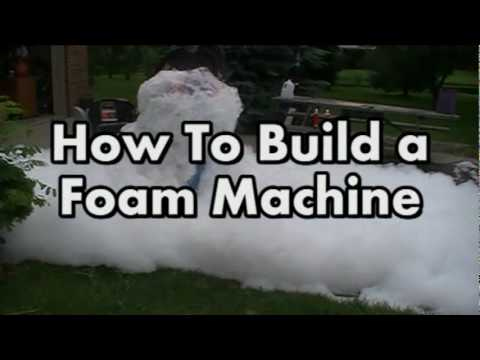 foam machine diy