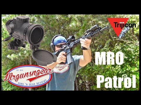 Trijicon MRO Patrol Red Dot Sight: Aimpoint Killer?