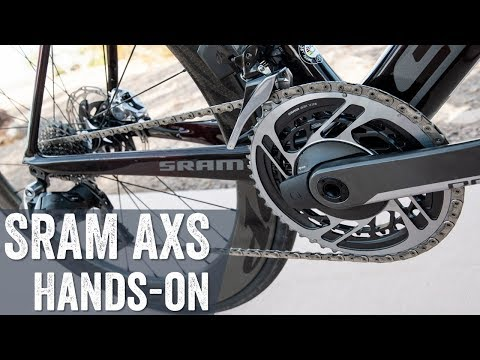 SRAM RED eTAP AXS Hands-on: Everything To Know About The Smart Tech