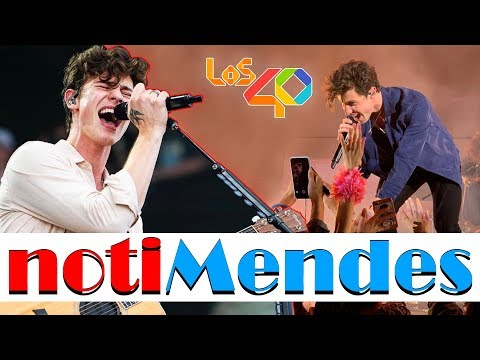 """""""Shawn Mendes Cancela"""" Presentación En Premios LOS40 *notiMendes*"""