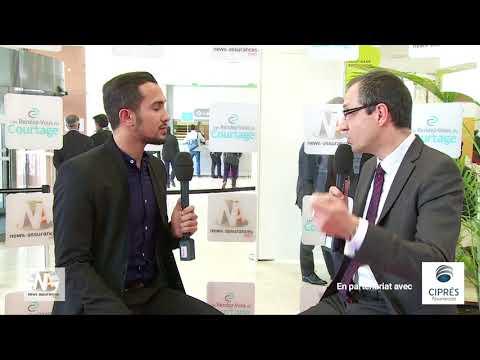 Interview de Bertrand Villeneuve, Directeur Commercial France de CIPRÉS Assurances