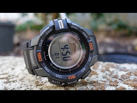 Casio Pro Trek Triple Sensor Watch Review (PRG-270-1) & Comparison With Pathfinder - Perth WAtch #32