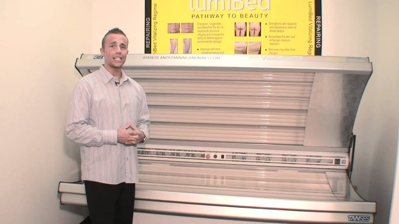 Islands Tanning features the Red Light Therapy Lumi Bed