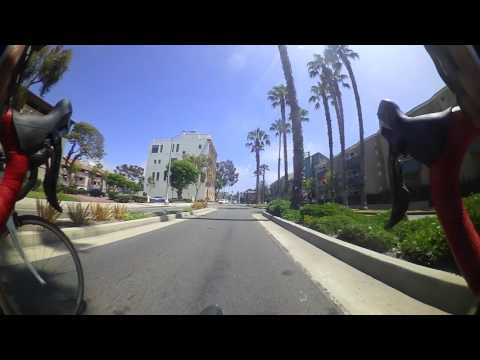 Beach Bikepath to Marina del Rey