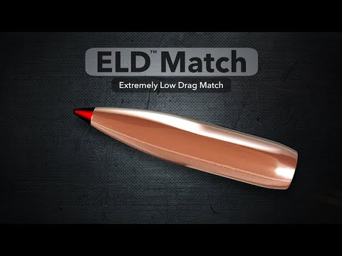 Hornady® ELD™ Match with Heat Shield™ Tip