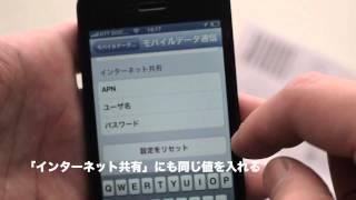 iPhone5 で月額490円〜 DTI ServersMan SIM 3G 100 を使う simカットも!