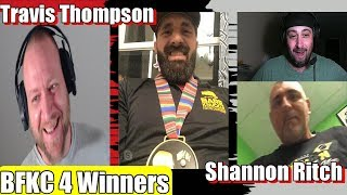 Travis Thompson & Shannon Ritch from BKFC 4