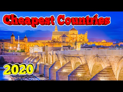 10 Cheapest Countries