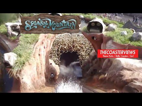 Splash Mountain POV Disneyland Resort California